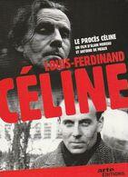 DVD Louis Ferdinand Céline LE PROCES CD + DVD ( TTB état ) - Documentari