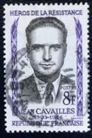 France - République Française - W1/13 - (°)used - 1958 - Michel 1193 - Jean Cavaillès - Usati