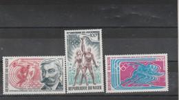 Niger 1971 Yvert Série PA 159 à 151  ** Neuf Sans Charnière  - Jeux Olympiques - Niger (1960-...)