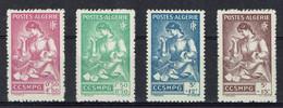 Algérie, Série Du Général Catroux, Familles Des Prisonniers De Guerre, 1944, **, TB Série Complète De 4 - Nuovi