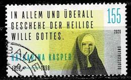 Bund 2020,Michel# 3548 O Katharina Kasper, 200. Geburtstag (1820-1898) - Oblitérés