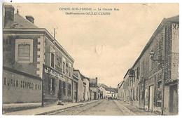 CONDE SUR MARNE - La Grande Rue - Etablissement Goulet Turpin - Sin Clasificación