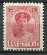 Luxemburg Nr.121               *  Unused                   (434) - 1921-27 Charlotte Frontansicht