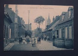"BONDUES CPA  Ecrite  "" Rue  Fouquet Lelong "" - Andere Gemeenten"
