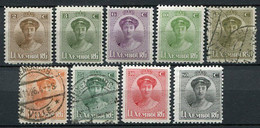 Luxemburg Nr.122/33               **  MNH + O  Used + *  Unused                   (436) - 1921-27 Charlotte Frontansicht