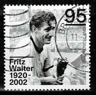 Bund 2020,Michel# 3568 O Fritz Walter (1920-2002) - Gebruikt