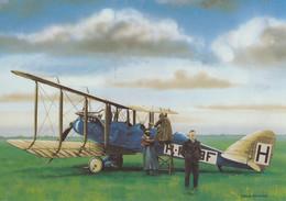 De Havilland DH-9 Van De KLM Ervoor Staat Plesman 1920 - CP - 1919-1938: Entre Guerras