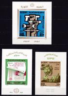 EG565 – EGYPT – BLOCKS – 1973-74 – MNH LOT – Y&T # 29/31 - CV 13 € - Blokken & Velletjes