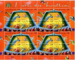 2003 SAN MARINO Minifoglio MNH ** 1954/1957 - Blocks & Sheetlets
