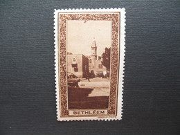 Vignette - Label Stamp - Vignetta Filatelico Aufkleber  Bethléhem Bethléem - Palestina