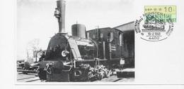 3620  Tarjeta  Munster 1983,  Tren , - Trains