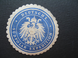 Vignette - Label Stamp - Vignetta Filatelico Aufkleber  Allemand Deutsche Sudpolar Expedition - Other