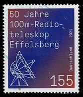 Bund 2021,Michel# 3599 O 50 Jahre 100m-Radioteleskop Effelsberg - Oblitérés