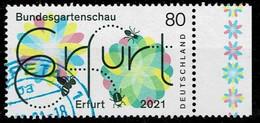 Bund 2021,Michel# 3600 O Bundesgartenschau Erfurt - Oblitérés