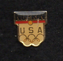 Pin's JO ALBERTVILLE 92 - Jeux Olympiques