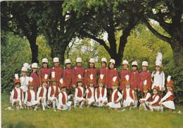 """CPM-PHOTO Carte Photo  (10) VILLENAUXE LA GRANDE Majorettes """"Bataillon Des Hirondelles"""" Folklore Traditions Coutumes - Vestuarios"""