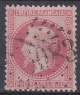FRANCE CLASSIQUE : EMPIRE N° 32 OBLITERATION GC 5083 CONSTANTINOPLE TURQUIE - 1863-1870 Napoleone III Con Gli Allori
