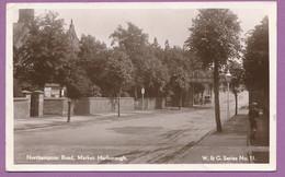 Northampton Road - Market Harborough - Circulé 1932 - Auto Car Oldtimer - Otros