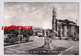 VIGEVANO - CHIESA MADONNA DI POMPEI E MONUMENTO  F/GRANDE VIAGGIATA  1956? ANIMAZIONE - Vigevano
