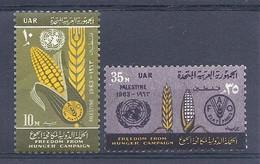 210040110  PALESTINA.  YVERT   OCUP,  EGIPCIA  Nº   93/4  **/MNH - Palestina