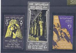 210040111  PALESTINA.  YVERT   OCUP,  EGIPCIA  Nº   97/9  **/MNH - Palestina