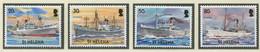 ST. HELENA / MiNr. 912 - 915 / Zivile Schifffahrt / Postfrisch / ** / MNH - Ships