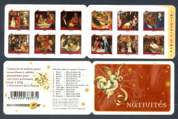2011 Carnet Adhésif - Meilleurs Voeux - NATIVITES -N° BC 621 - NEUF - LUXE ** NON Plié 12 TIMBRES - Gedenkmarken