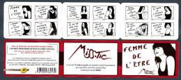 2011 Carnet Adhésif Femme De L'être De MISS TIC -N° BC 538 - NEUF - LUXE ** NON Plié - Gedenkmarken