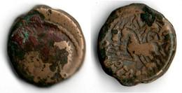 REMES Bronze TROIS BUSTES Et CHAR - Celtas