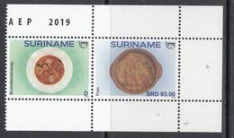 2019 Surinam Suriname Upaep Local Food Cuisine Gastronomie Complete  Pair  MNH - Suriname