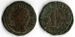PHILIPPE I (244 249) Grand Bronze De VIMINACIUM      MESIE ENTRE BŒUF ET LION - 3. Provinces Et Ateliers
