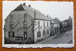 Heinch Maison Communale Et Les Ecoles. Gemeentehuis - Attert