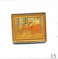 Pin's Peinture / Vincent Van Gogh (1853-90) - La Chambre D'Arles (1888). Est. Pin Art's. Inclusion Sous époxy. T819-15 - Beroemde Personen