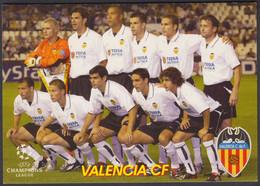 FOOTBALL-VALENCIA CF-OLD RUSSIAN CARD - Soccer
