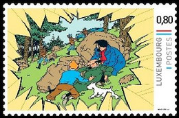 Timbre Privé** - Kuifje/Tintin - Milou/Bobbie - Haddock - L'affaire Tournesol / De Zaak Zonnebloem / Der Fall Bienlein - Privé