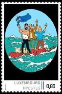 Timbre Privé** - Kuifje/Tintin - Milou/Bobbie - Haddock - Coke En Stock / Cokes In Voorraad / Kohle An Bord - Private