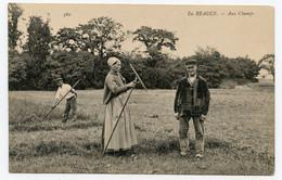 En Beauce ( 28 ) Agriculture. Paysans Aux Champs. - Other Municipalities