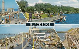 Postcard Blackpool Multiview [ Bamforth ] My Ref B14441 - Blackpool