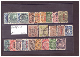 CHINA - 24 DIFFERENTS USED STAMPS  - !!!WARNING: NO PAYPAL!!! - Gebruikt