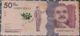 Colombia 50,000 Pesos 23/7/2019 UNC - Kolumbien