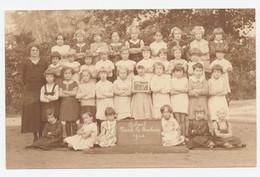 Deurne: School Park Te Boelaer 1934 - Meisjes 1-2 - Fotograaf: René Peleman (Borgerhout) - Personnes Anonymes