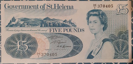 Saint-Hélène 5 Pounds 1986 UNC - St. Helena