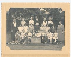 Deurne: Gemeente Meisjesschool Park Te Boelaer 1936-37 - 3e En 4e Studiejaar - Fotograaf: René Peleman (Borgerhout) - Personnes Anonymes