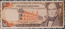 Venezuela 50 Bolivares 13/10/1998 UNC - Venezuela