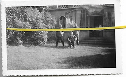59 152 FLINES LES RACHES CHATEAU SOLDATS ALLEMANDS JUILLET 1940 - Andere Gemeenten