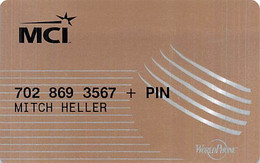 MCI Worldphone Calling Card - [3] Magnetic Cards