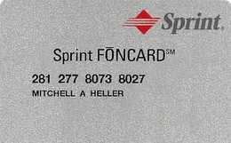 Sprint FONCARD - [3] Magnetic Cards