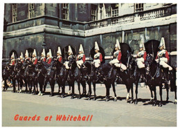 (VV 7) UK - Whitehall - Changing The Guards Ceremony (posted To France 1977) - Regimenten