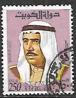 Kuwait   1969   Sc#473   250f  Used  2016 Scott Value $2.75 - Koweït