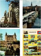 16 / CHARENTE / Lot 90 C.P.M. écrites - 5 - 99 Cartoline